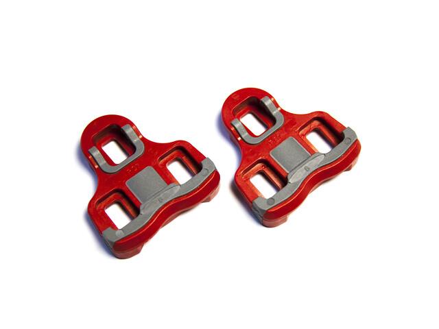 Powertap Pedalplatten rot